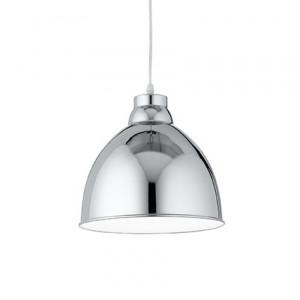 Ideal Lux - Bright - Navy SP1 - Lampadario in metallo con interno smaltato