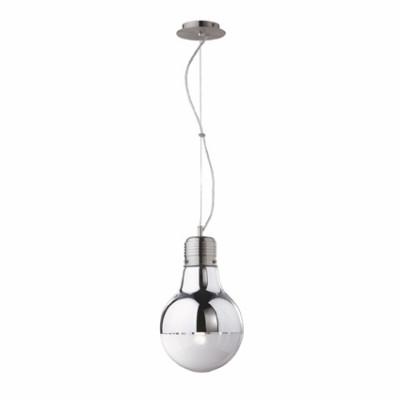 Ideal Lux - Bulb - LUCE Cromo SP1 SMALL - Lampada a sospensione - Cromo - LS-IL-026732