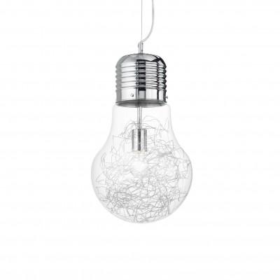 Ideal Lux - Bulb - LUCE MAX SP1 BIG - Lampada a sospensione - Cromo - LS-IL-033662