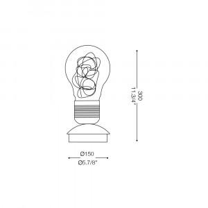 Ideal Lux - Bulb - LUCE MAX TL1 - Lampada da tavolo