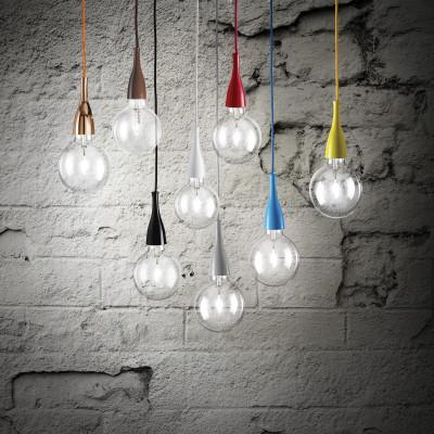 Ideal Lux - Bulb - MINIMAL SP1 - Lampada a sospensione