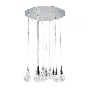 Ideal Lux - Bulb - Minimal SP10 - Sospensione con lampade alogene