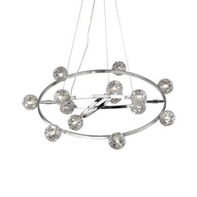 Ideal Lux - Bunch - ORBITAL SP14 - Lampada a sospensione - Cromo - LS-IL-073835