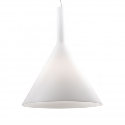 Ideal Lux - Calice - COCKTAIL SP1 BIG - Lampada a sospensione - Bianco - LS-IL-074313