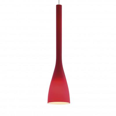 Ideal Lux - Calice - FLUT SP1 BIG - Lampada a sospensione - Rosso - LS-IL-035673