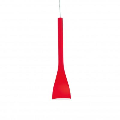 Ideal Lux - Calice - FLUT SP1 SMALL - Lampada a sospensione - Rosso - LS-IL-035703