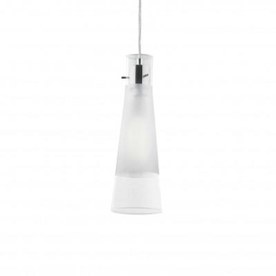 Ideal Lux - Calice - KUKY CLEAR SP1 - Lampada a sospensione - Trasparente - LS-IL-023021