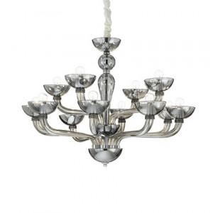 Ideal Lux - Casanova - Casanova SP12 - Lampadario in vetro lavorato a mano