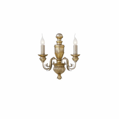 Ideal Lux - Chandelier - DORA AP2 - Applique - Oro - LS-IL-020846