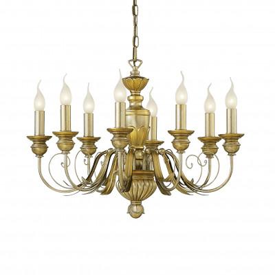 Ideal Lux - Chandelier - DORA SP8 - Lampada a sospensione - Oro - LS-IL-020839