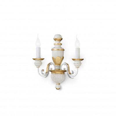 Ideal Lux - Chandelier - FIRENZE AP2 - Applique - Bianco antico - LS-IL-012902