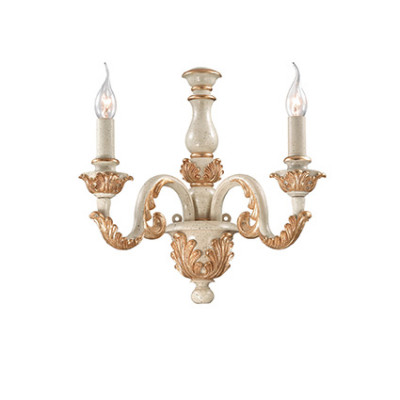 Ideal Lux - Chandelier - Giglio AP2 - Applique - Oro - LS-IL-075280