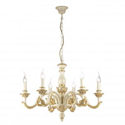 Ideal Lux - Chandelier - Giglio SP6 - Lampada a sospensione - Oro - LS-IL-075327