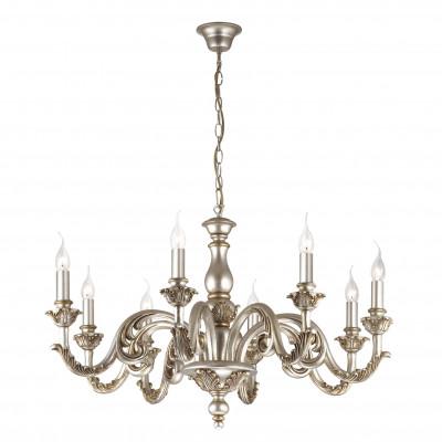 Ideal Lux - Chandelier - Giglio SP8 - Lampada a sospensione - Argento - LS-IL-075334