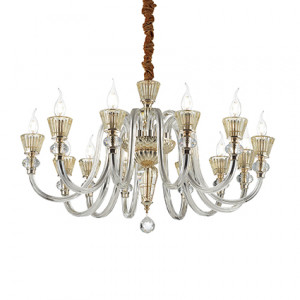 Ideal Lux - Chandelier - Strauss SP12 - Lampada a sospensione
