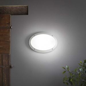 Ideal Lux - Circle - Maddi-1 AP1 - Applique ovale da esterno in resina