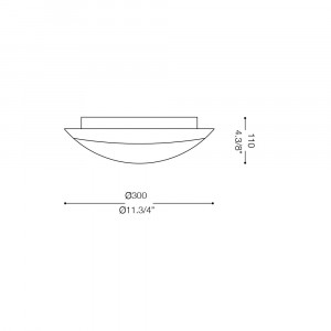 Ideal Lux - Circle - RING PL2 - Plafoniera