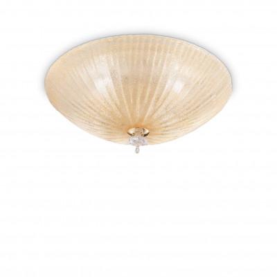 Ideal Lux - Circle - SHELL PL4 - Plafoniera - Ambra - LS-IL-140186