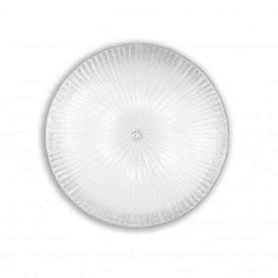 Ideal Lux - Circle - SHELL PL6 - Plafoniera classica - Trasparente - LS-IL-008622
