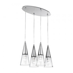 Ideal Lux - Cono - CONO SP4 - Lampada a sospensione