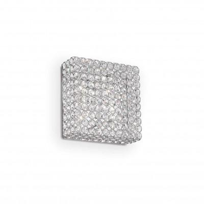 Ideal Lux - Diamonds - ADMIRAL PL4 - Lampada da parete/soffitto - Cromo - LS-IL-080338