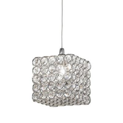Ideal Lux - Diamonds - ADMIRAL SP1 - Lampada a sospensione - Cromo - LS-IL-080437