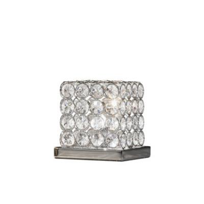 Ideal Lux - Diamonds - ADMIRAL TL1 - Lampada da tavolo - Cromo - LS-IL-080376