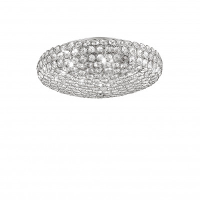 Ideal Lux - Diamonds - KING PL7 - Plafoniera - Cromo - LS-IL-073224