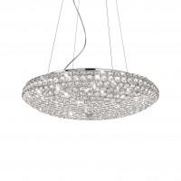 Ideal Lux - Diamonds - King SP12 - Elegante lampada a sospensione con cristalli