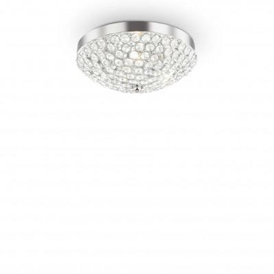 Ideal Lux - Diamonds - ORION PL3 - Plafoniera - Cromo - LS-IL-059136