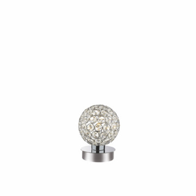 Ideal Lux - Diamonds - ORION TL1 - Lampada da tavolo - Cromo - LS-IL-059198