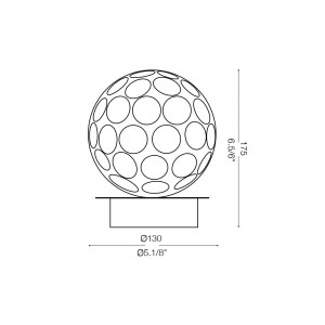 Ideal Lux - Diamonds - ORION TL1 - Lampada da tavolo