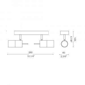 Ideal Lux - Direction - ELIS AP2 - Applique