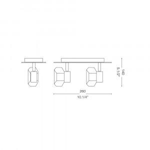 Ideal Lux - Direction - NOSTALGIA AP2 - Applique