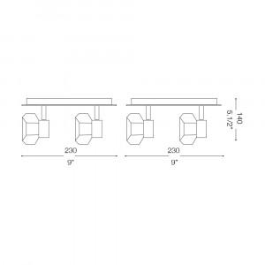 Ideal Lux - Direction - NOSTALGIA PL4 - Plafoniera
