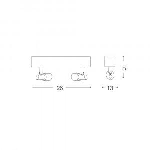 Ideal Lux - Direction - SLEM AP2 - Applique