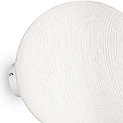 Ideal Lux - Eclisse - MAPA SP1 D20 - Lampada a sospensione - Decoro righe bianco  - LS-IL-161396