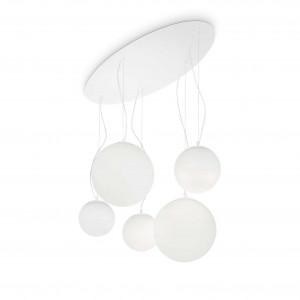 Ideal Lux - Eclisse - MAPA SP5 - Lampadario con 5 diffusori a sfera