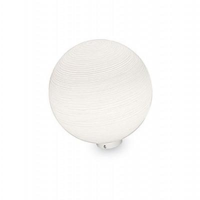 Ideal Lux - Eclisse - MAPA TL1 D20 - Lampada da terra - Decoro righe bianco  - LS-IL-161433