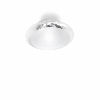 Ideal Lux - Eclisse - SMARTIES CLEAR PL1 D33 - Lampada da soffitto - Trasparente - LS-IL-035543