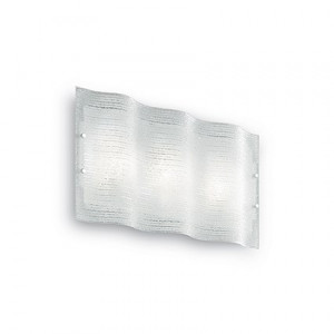 Ideal Lux - Essential - Cick PL2 - Applique con diffusore in triplo vetro