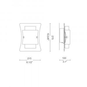 Ideal Lux - Essential - TRIPLO AP1 - Applique