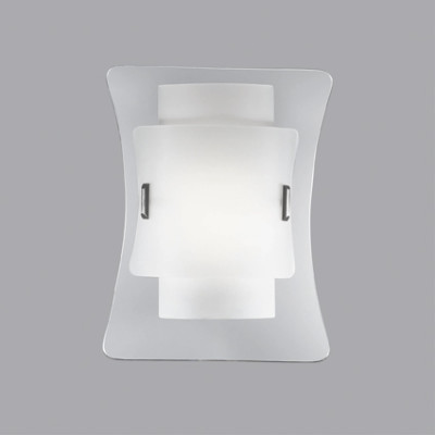 Ideal Lux - Essential - TRIPLO AP1 - Applique - Trasparente - LS-IL-026473
