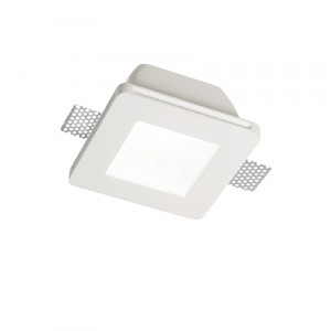 Ideal Lux - Faretti Incasso - Samba Fi1 Square Big Glass - Faretto ad incasso