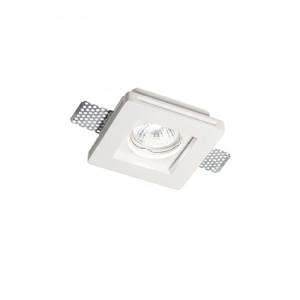 Ideal Lux - Faretti Incasso - Samba Fi1 Square Small - Faretto ad incasso