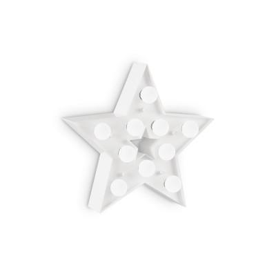Ideal Lux - Fun - Circus-2 AP10 - Applique per cameretta bambini - Bianco - LS-IL-203041