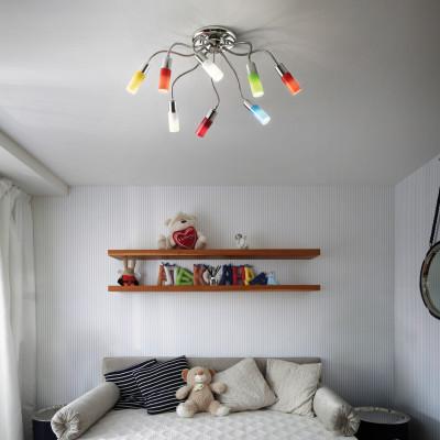 Ideal Lux - Fun - ECOFLEX PL8 - Lampada da soffitto