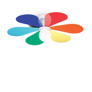 Ideal Lux - Fun - Flower PL1 D60 - Lampada da soffitto