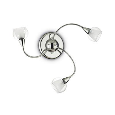 Ideal Lux - Fun - TENDER PL3 - Lampada da parete o soffitto - Trasparente - LS-IL-028682