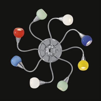 Ideal Lux - Fun - TENDER PL8 - Lampada da parete / soffitto - Multicolor - LS-IL-007113